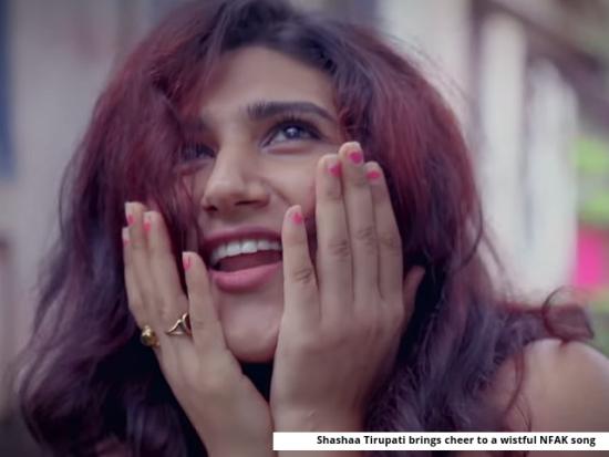 Shashaa Tirupati puts a cheery spin to Nusrat Fateh Ali Khan classic, Tere Bin Nai Lagda