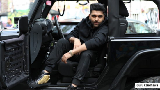 Guru Randhawa will be biking it in 'Downtown'