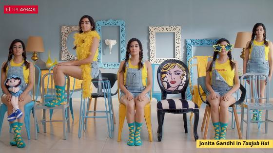No surprises here, Jonita Gandhi's 'Taajub Hai' is an infectiously fun song
