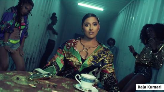 REVIEW: Pride powers Raja Kumari's kaleidoscopic video for 'Shook'