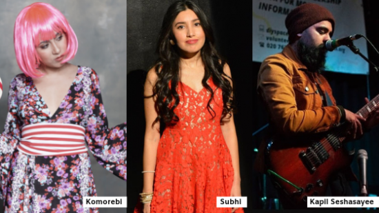 Komorebi is one of three Indian singers to feature music at SXSW 2019