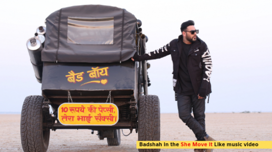 Badshah's 'She Move It Like' video leaves you stuck in repeat mode