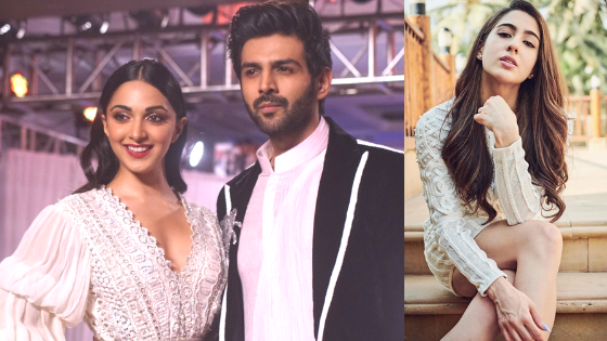 It's Kiara Advani opposite Kartik Aaryan, not Sara Ali Khan, say reports. What about the music?