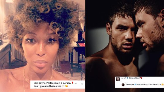 Move over Nick and Priyanka, Liam Payne and Naomi Campbell flirting has our attention!