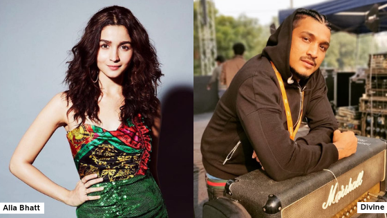 Is 'Gully Girl' Alia Bhatt the newest rapper in Bollywood? Divine is all for it!