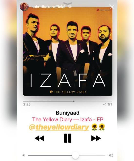 The Yellow Diary is the indie band Sukriti Kakar loves!