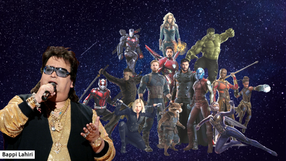 Bappi Lahiri song in upcoming Marvel film?