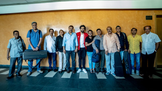 Amaal Mallik records with 24-piece orchestra for De De Pyaar De song