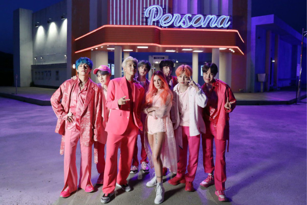 "Halsey found being on set with BTS ""intimidating"""