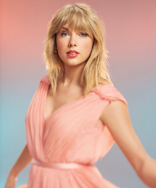 Taylor's a pastel stunner on TIME cover!