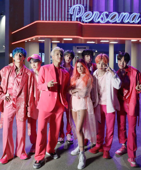 Halsey: Working with BTS is...