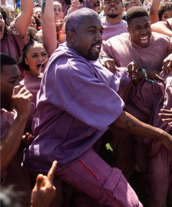 Kanye's Hole-y Sunday Service!