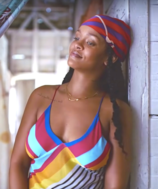 Rihanna ain't singing in Guava Island