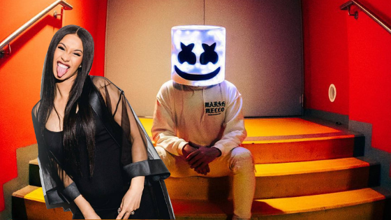 Is the Marshmello-Cardi B collaboration finally happening?