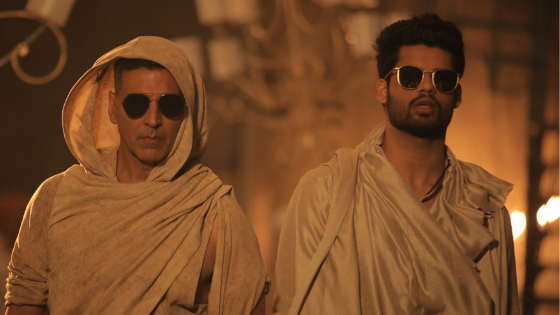 Akshay Kumar shoots special song for Karan Kapadia