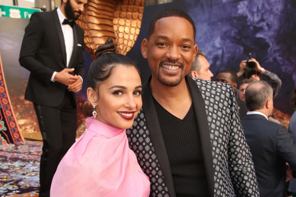 Check out pics from the star-studded Aladdin world premiere