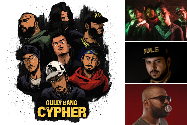 DIVINE's Gully Gang Records releases first track 'Gully Gang Cypher' today