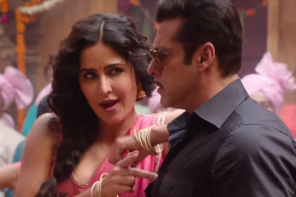 REVIEW: Kat gets Salman's tongue (well, almost) in the Aithey Aa video