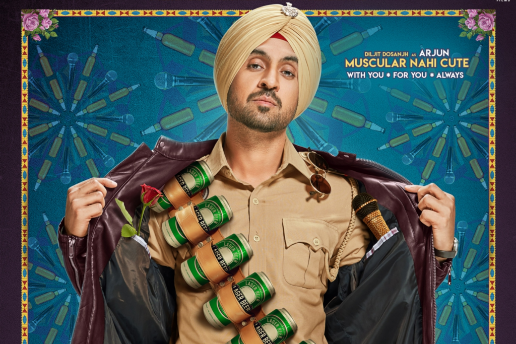 Diljit Dosanjh's new movie poster out now!
