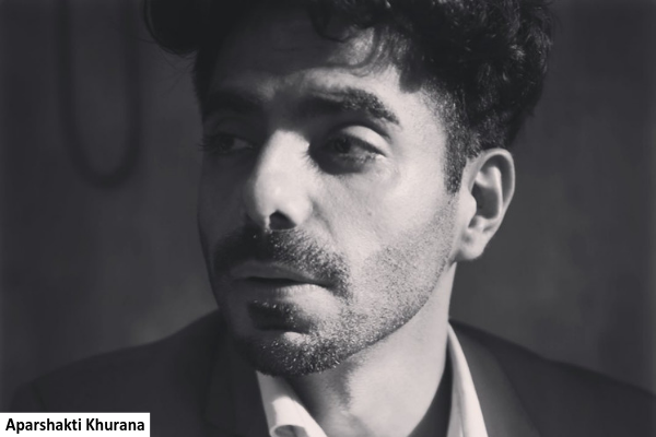 Aparshakti Khurana reveals his celebrity crushes