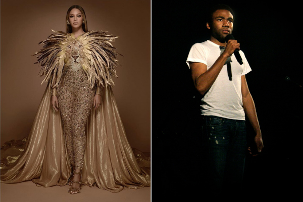 Beyonce and Childish Gambino are singing an Elton John song together!