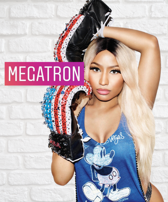 Why THIS word has Nicki's fans excited