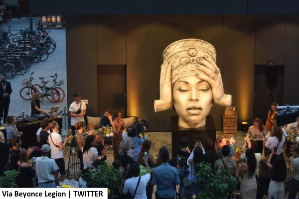 Massive Homecoming-inspired Beyonce sculpture unveiled in Germany