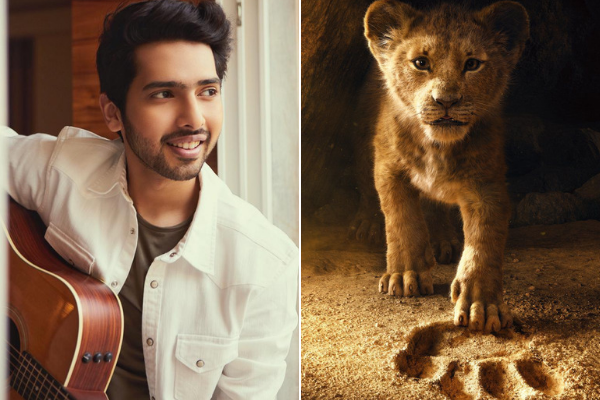 Armaan Malik in Los Angeles for The Lion King premiere