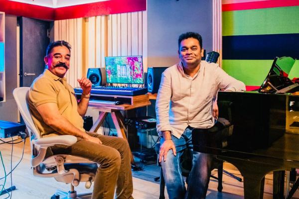 Kamal Haasan, AR Rahman reunite 19 years later