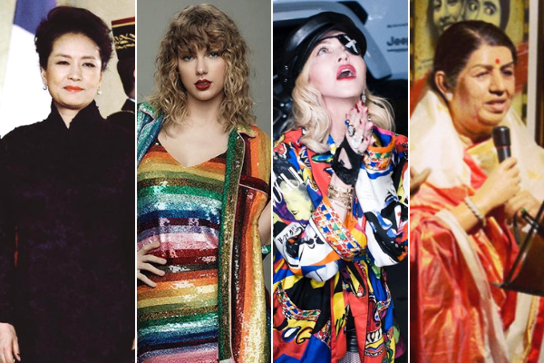 Taylor Swift, Madonna, PC in YouGov's Most Admired list