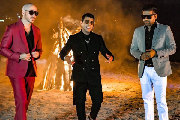 Guru Randhawa to collaborate with Pitbull again… for a Spanish track!