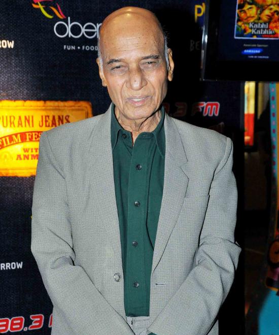 Khayyam saab, gone at 93