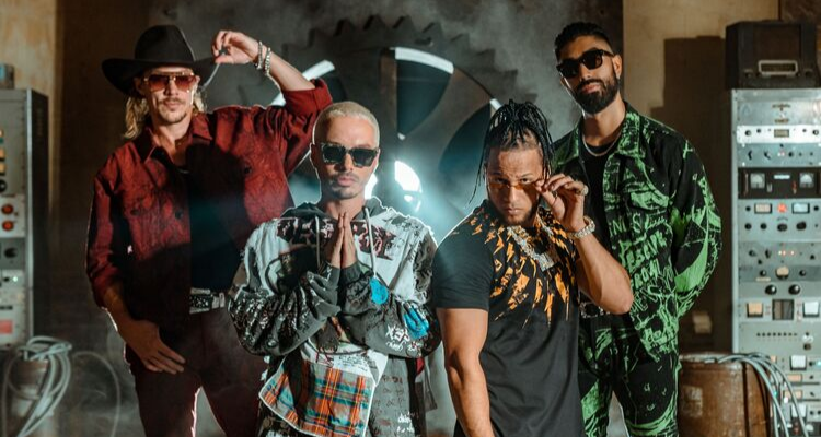 J Balvin joins Diplo's Major Lazer to bring the heat with Que Calor!