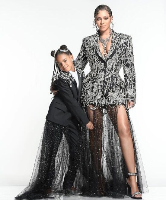 Beyonce describes daughter as...