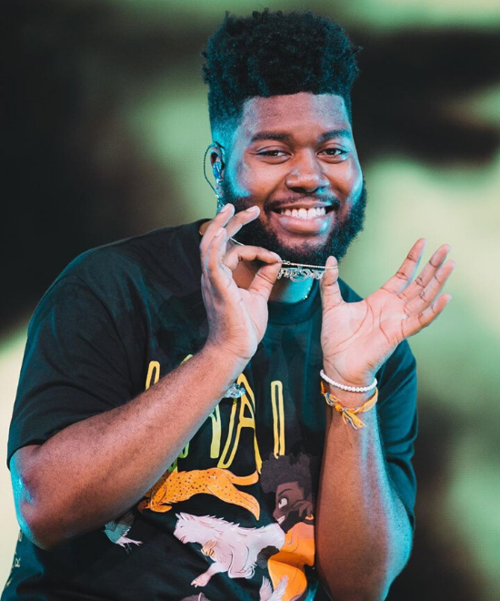 Khalid heads to India in April 2020!