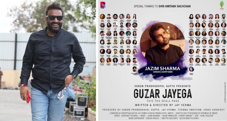 I did not want 'Guzar Jayega' to be just another 'lockdown song': Varun Gupta