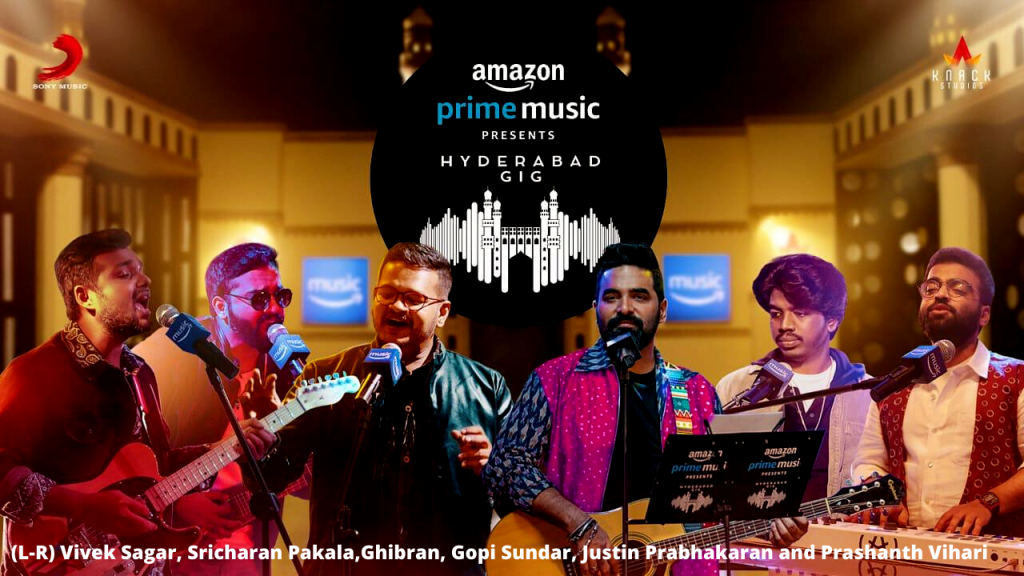 Amazon Prime Music Hyderabad Gig announced, first look out!