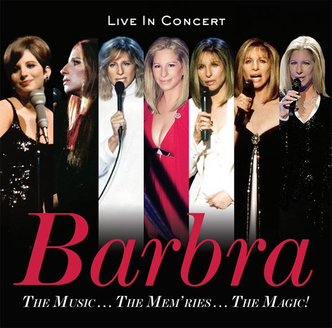 Resultado de imagem para the music...the mem'ries...the magic! Barbra streisand cover art