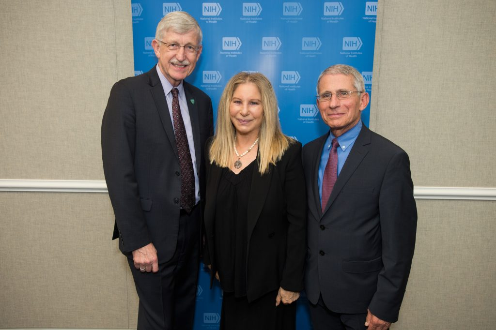 Barbra Streisand visits Washington to advance women's heart health equity in NIH lecture
