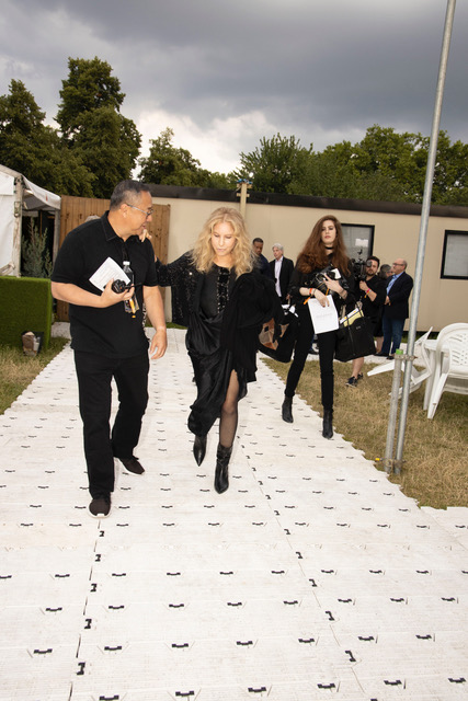 Photos from Barbra's Performance in Hyde Park