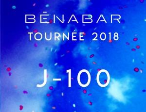 La tournée 2018, J-100