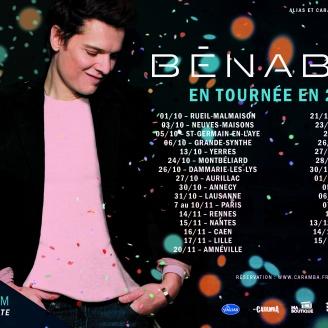 Bénabar Tournée 2018_Demi Page 210×130 – toutes dates2