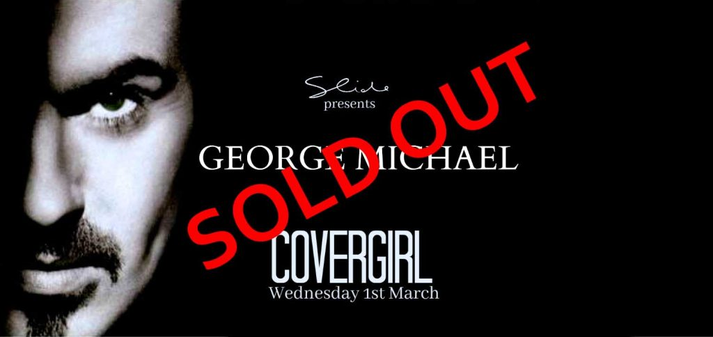 GEORGE MICHAEL Covergirl Slider_soldout