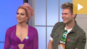 Morning Show - Courtney Act & Bielfield