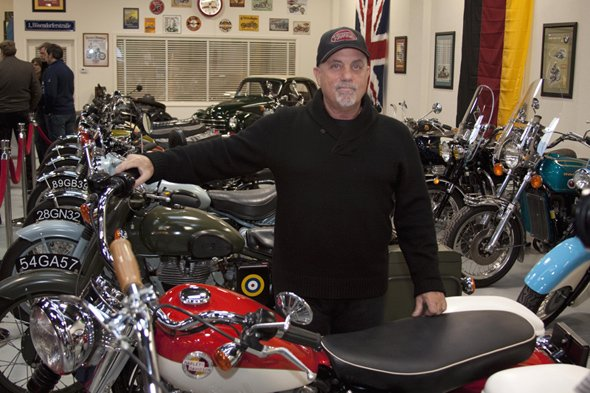 Billy Joel at 20th Century Cycles