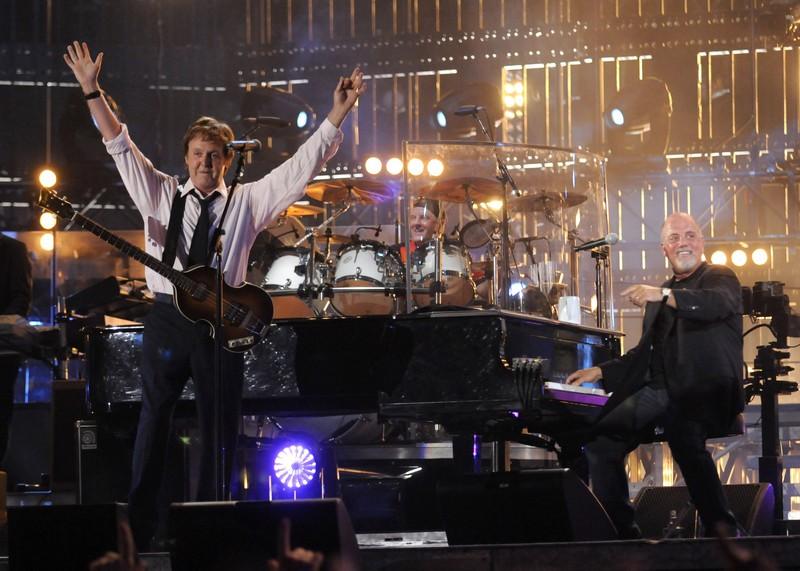Billy Joel and Paul McCartney