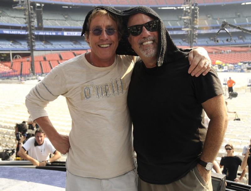 Billy Joel and Roger Daltrey
