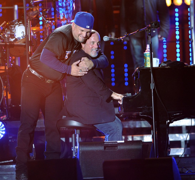 Billy Joel and Garth Brooks