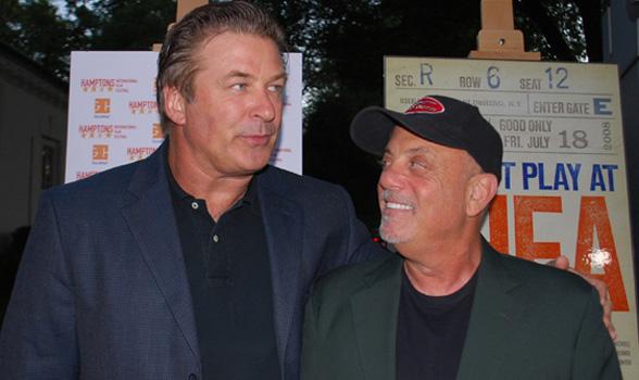 Billy Joel and Alec Baldwin at Hamptons SummerDocs