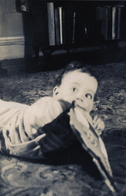 Billy Joel baby photo